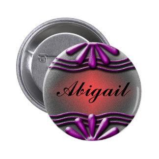 Nameplate Lilac 6 Cm Round Badge
