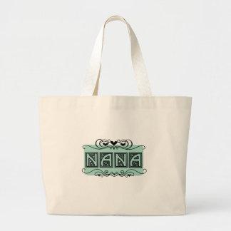 Nameplate Nana T-shirts and Gifts Large Tote Bag