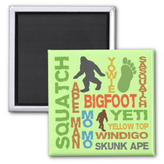 Names For Bigfoot Magnet