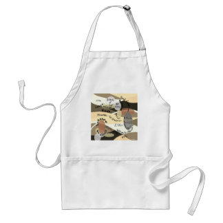 Names of God Standard Apron
