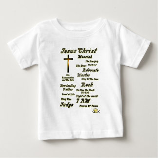 Names of Jesus Baby T-Shirt