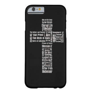 Names of Jesus Cross Barely There iPhone 6 Case