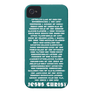Names of Jesus iPhone 4 Case-Mate Cases