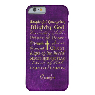 Names of Jesus Purple Phone Case