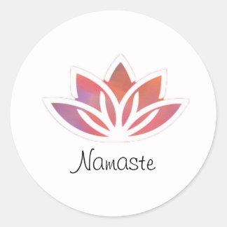 Nameste Lotus Sticker