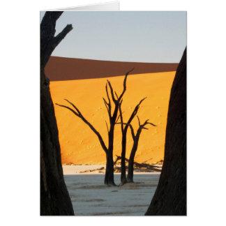 Namib-Naukluft Park, Sossusvlei | Dead Vlei Card