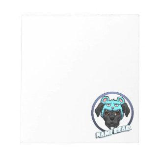 NamiBear Logo Notepad