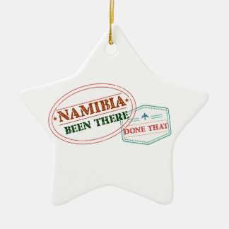 Namibia Been There Done That Ceramic Ornament