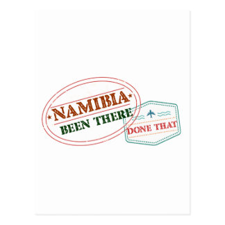 Namibia Been There Done That Postcard