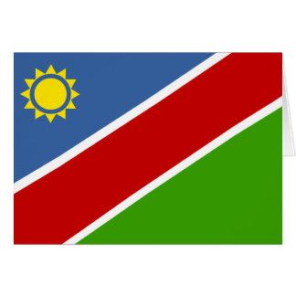 Namibia Flag Card