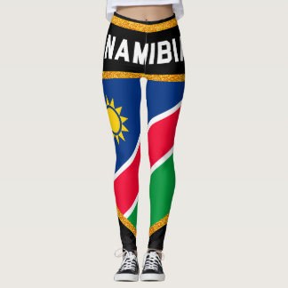 Namibia Flag Leggings