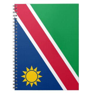 Namibia Flag Notebook