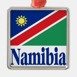 Namibia Metal Ornament