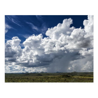 Namibia - Thundercloud over the plains Post Cards