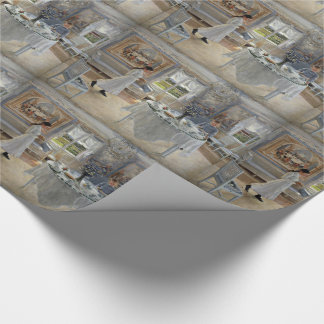 Namnsdag or Name Day Wrapping Paper
