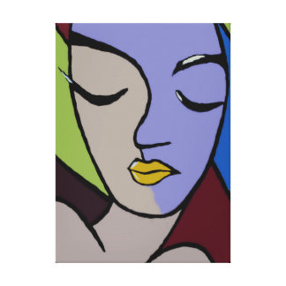 Nana Ai - Afrocentric art Canvas Print