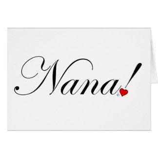 Nana! Card