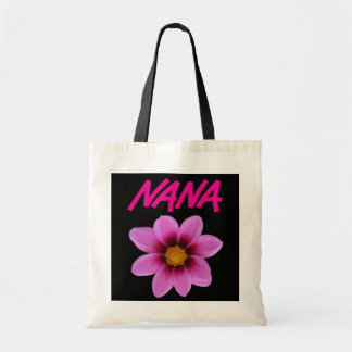 Nana Flower Budget Tote Bag