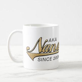 """Nana Grandmom Mug """"AKA Nana Since..."""""""