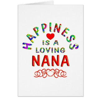 Nana Happiness Card