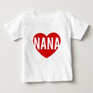 Nana Heart Baby T-Shirt