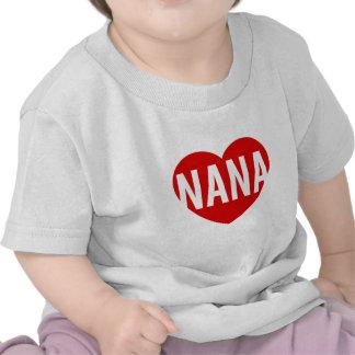Nana Heart T Shirts