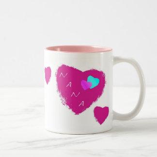 Nana Hearts Mug