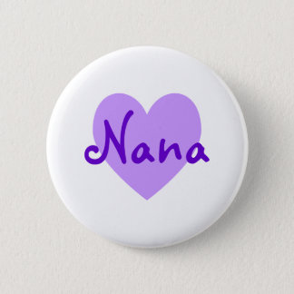 Nana in Purple 6 Cm Round Badge