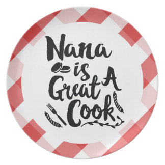 Nana is a Great Cook Plate