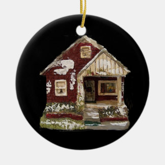 "?NANA K. 'S COLLECTIBLE CHRISTMAS ORNAMENT"" ROUND CERAMIC DECORATION"