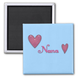 Nana with Hearts Magnet