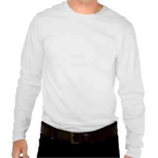 Nanach Saba Black And White Blur Long Sleeve Tee Shirt