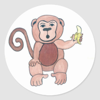 Nanaman Round Sticker