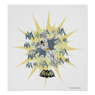 NANANANANANA Batman Graphic Poster