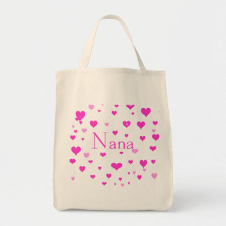 Nana's Hearts Tote Bag