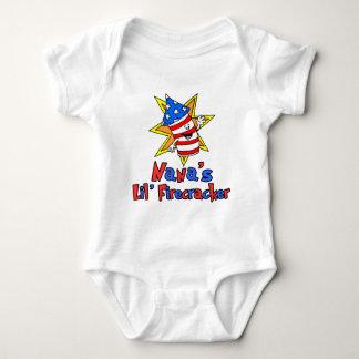 Nana's Little Firecracker Baby Bodysuit