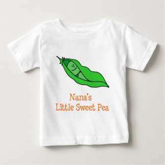 Nana's Little Sweet Pea Baby T-Shirt