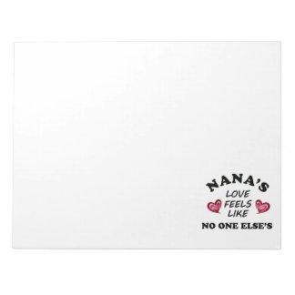 Nana's Love Notepad