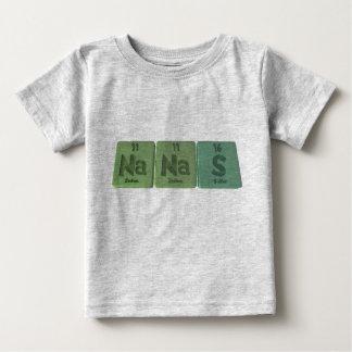 Nanas-Na-Na-S-Sodium-Sodium-Sulfur.png Baby T-Shirt