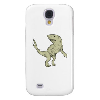 Nanaue Fighting Stance Drawing Galaxy S4 Case