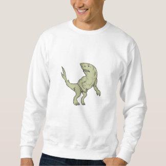 Nanaue Fighting Stance Drawing Sweatshirt