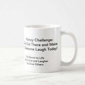 nancy1, Member Of The, Nancy Club :0, Nancy Cha... Classic White Coffee Mug