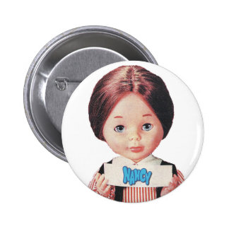 Nancy 6 Cm Round Badge