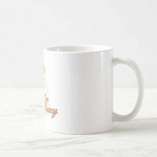 Nancy Basic White Mug