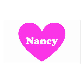 Nancy Business Card