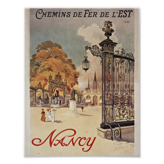 Nancy France Poster
