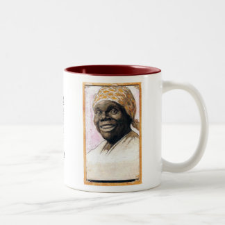 Nancy Green Aunt Jemima Two-Tone Mug