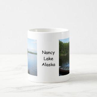Nancy Lake, Alaska Basic White Mug