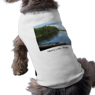 Nancy Lake, Alaska Sleeveless Dog Shirt