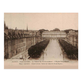 Nancy Palace Carriére Place  1910 Replica Vintage Postcard